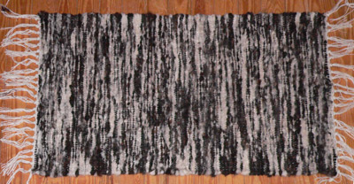 Fleece wovenrug